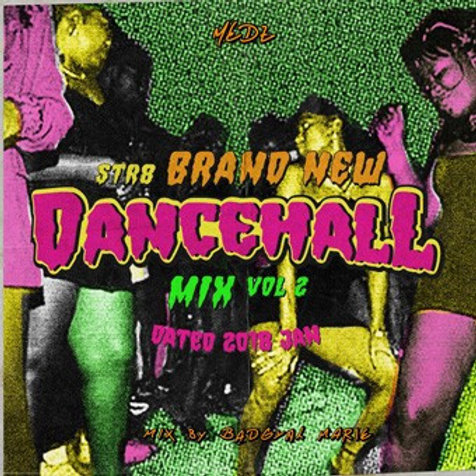 Medz【 STR8 BRAND NEW DANCEHALL MIX vol.2 -Dated JAN 2018- 】Mixed by Bad Gyal Mar