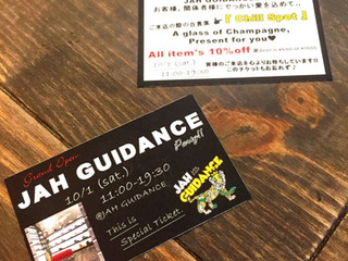 10/1 【 Grand Open JAH GUIDANCE Party !! 】