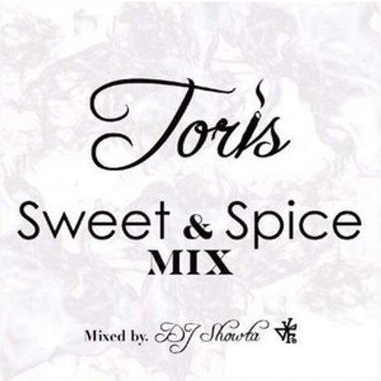 《 関東は、JAH GUIDANCEのみで販売中!! 》TORIS 【 Sweet & Spice MIX 】Mixed by DJ SHOWTA