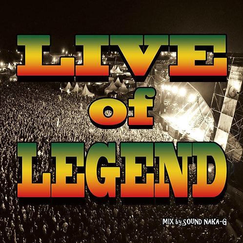 SOUND NAKA-G【 LIVE of LEGEND 】レーベル:NICE & CRAZY MUSIC