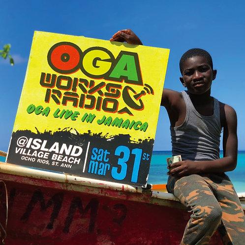 OGA fr.JAH WORKS【 OGA WORKS RADIO MIX vol.8 -OGA LIVE IN JAMAICA- 】