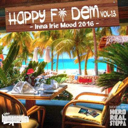 Selected & Mixed By Hero Realsteppa fr. HUMAN CREST 【HAPPY FI DEM vol.13 -Inna I