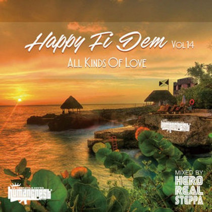 Hero fr.HUMAN CREST 【 HAPPY FI DEM vol.14 -All Kinds Of Love- 】Mixed by Hero REA