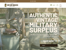 Custom Shopping Software for Army Navy Warehouse