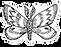 Moth Headdress Illustration