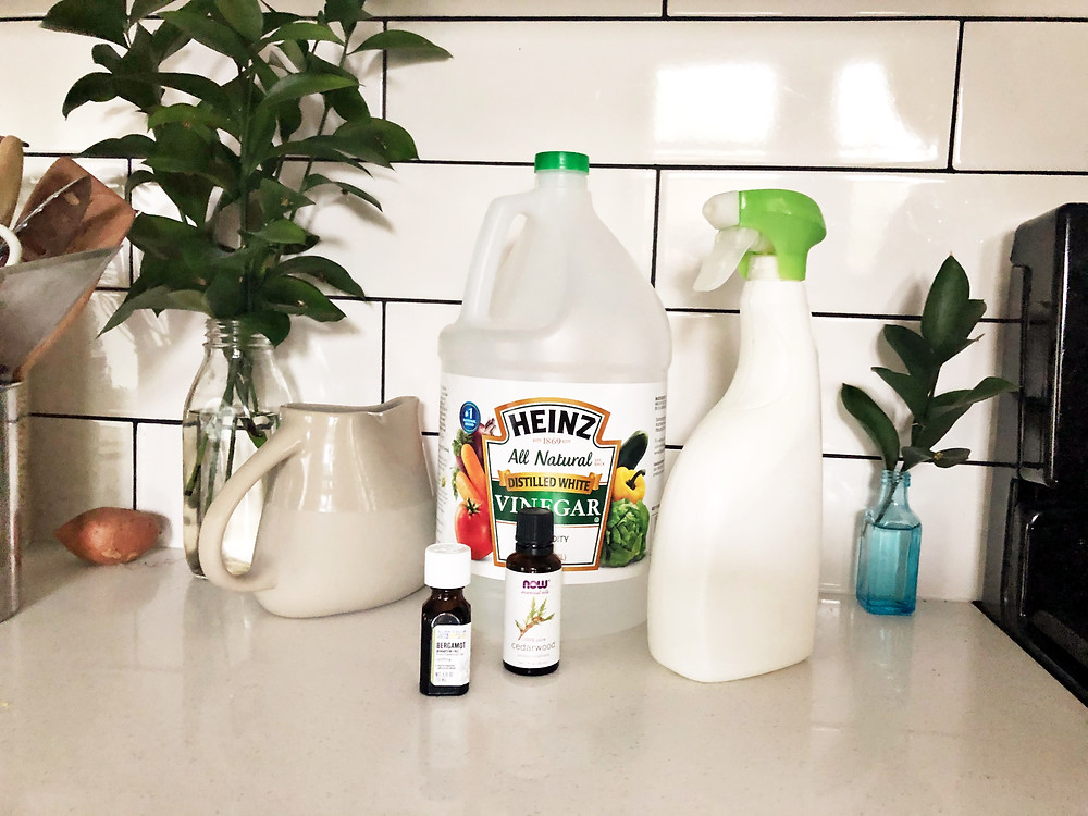 How to make surface spray cleaner at home