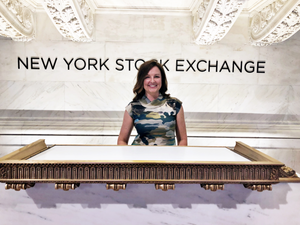 Lovage Inc. CEO talks the advantages of WIX on the floor of the NYSE.
