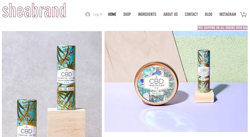 Sheabrand - CBD Goods