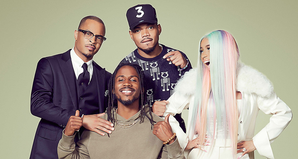 Cardi B, Chance the Rapper, T.I., and winner D Smoke