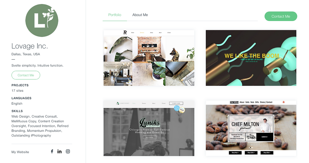 Top Wix Agency Website Portfolio for WIX Design
