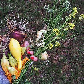 Good Earth Organic Farm produce near Dallas