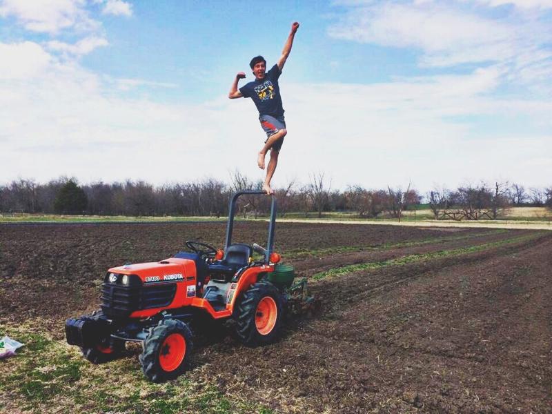 Paul's son on their farm.jpg