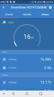 Boondocking Power App Analysis