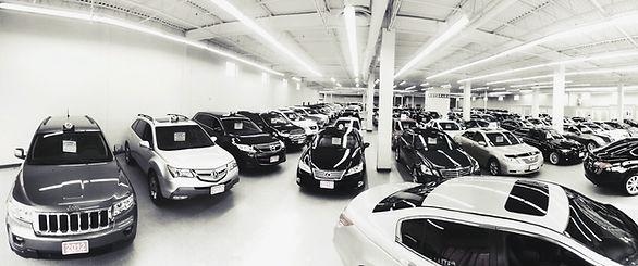 dealership car fleet