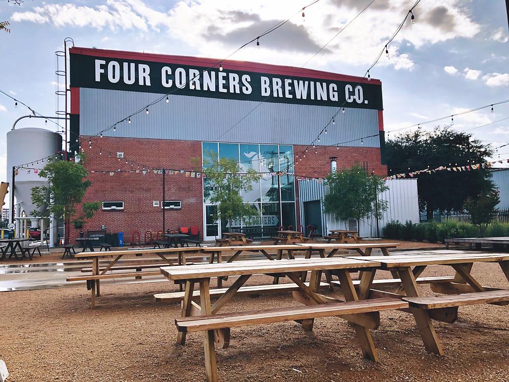 Four Corners Brewing Co in the Cedars near downtown Dallas