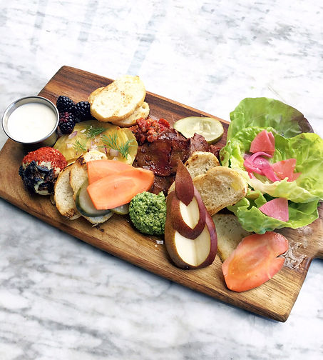 Bar Kindred Charcuterie Board