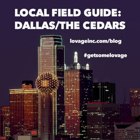 FIELD GUIDE: Dallas / The Cedars