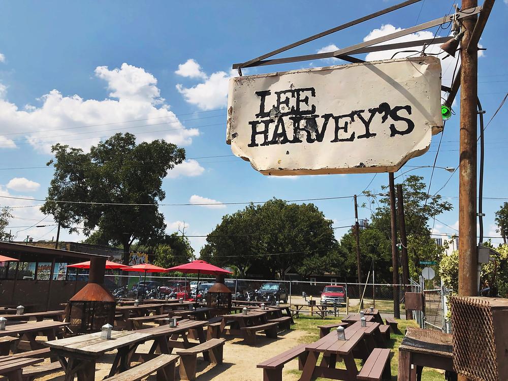 Lee Harvey's is a longtime Cedars restaurant, bar, and music venue