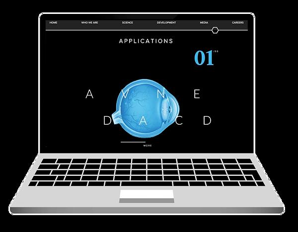 Biomedical Tech Website Design