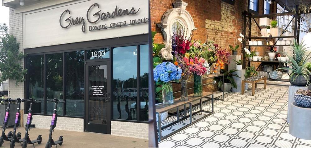 Grey Gardens Florist in the Cedars in Dallas