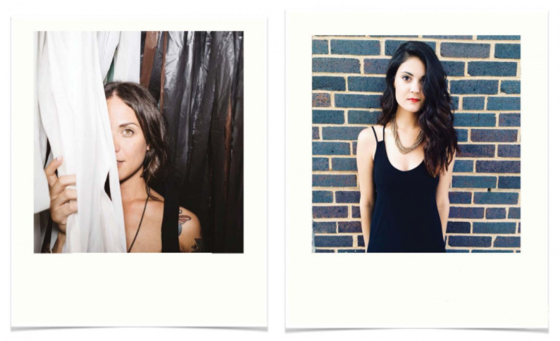 Sisterbrother Management Founder and Owner Jennifer Dunn polaroid