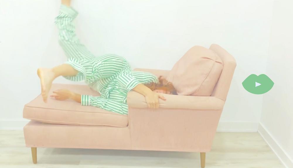 An Artistic Video Interpretation of How Insomnia Feels