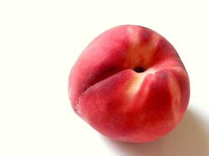 Peaches are in season in the summer - June and July