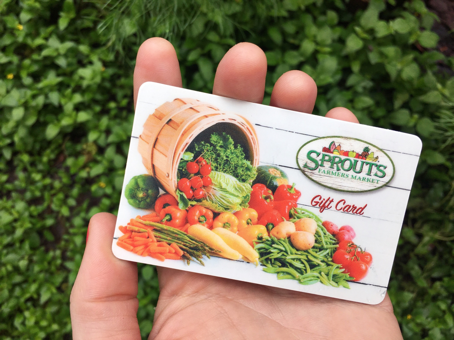 Sprouts Farmers Market Gift Card