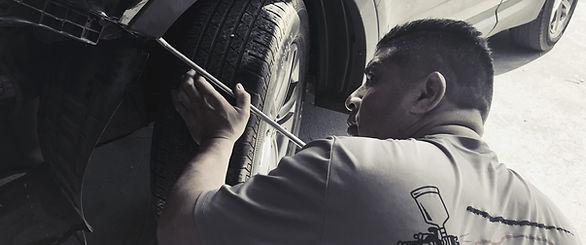 Wheel Repair Technician