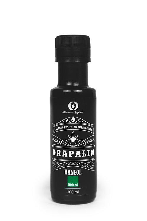 DRAPALIN Bio Hanföl, Vorderansicht