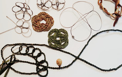 cycloid weaving and knots