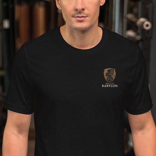 Embroidered Short-Sleeve T-Shirt (Unisex)