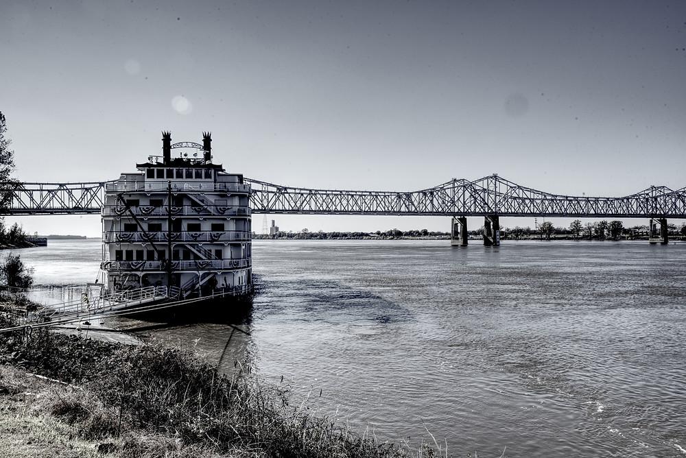 Natchez MS, Mississippi River