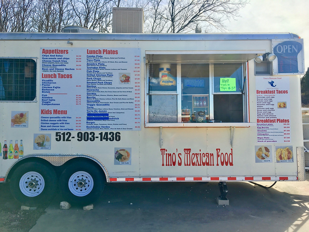 Tino's Food truck, Austin TX