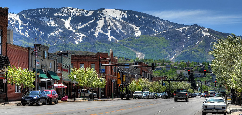 Downtown Steamboat Springs, CO