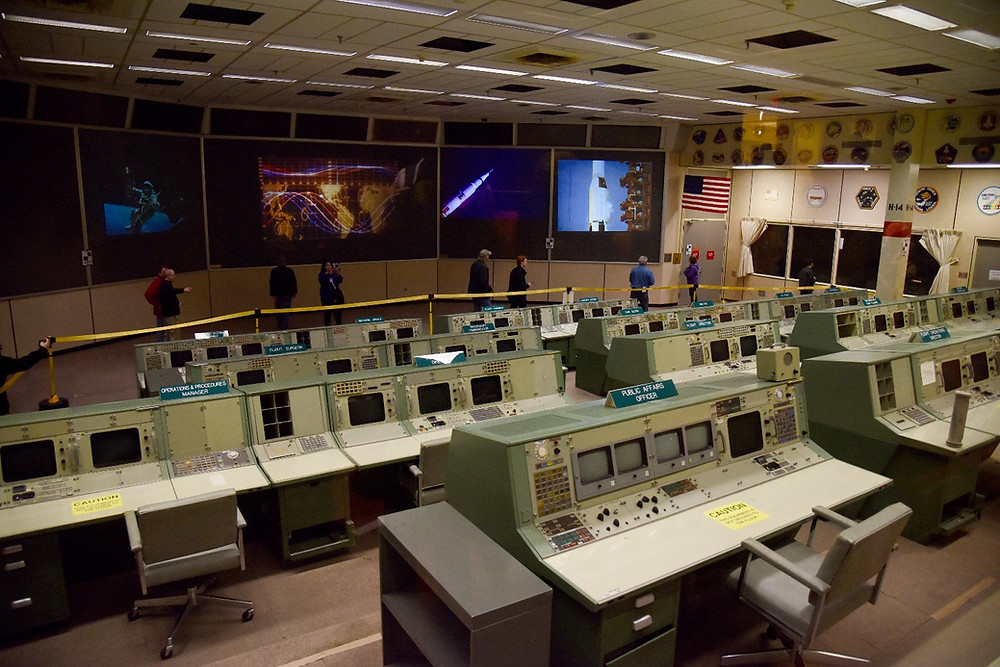 Johnson Space Center Control Room