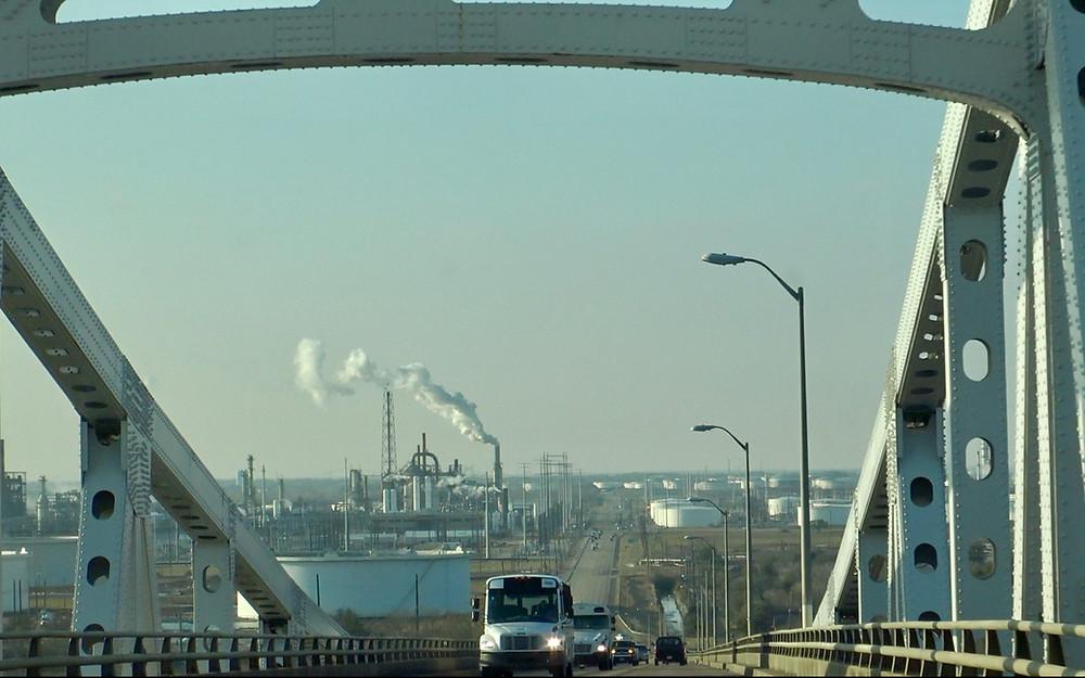 Dr. Martin Luther King Jr. Memorial Bridge, Port Arthur Tx.