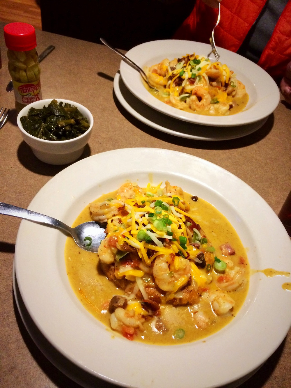 Shrimp and Grits, The Palms