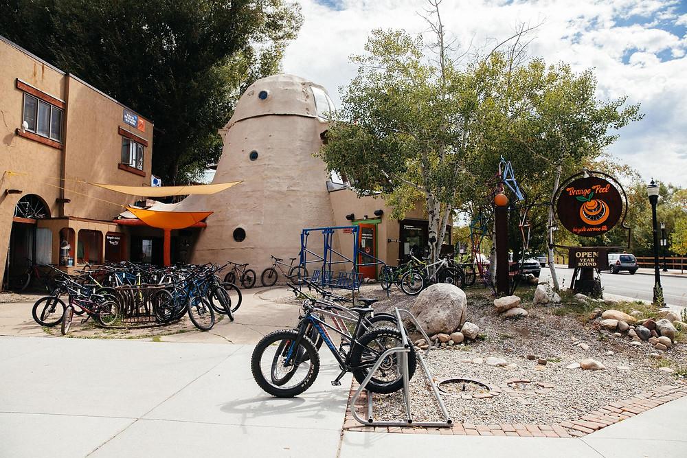 Orange Peel Bike Shop Steamboat Springs, CO