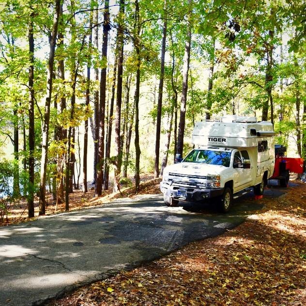 Campsite #37 at Dreher