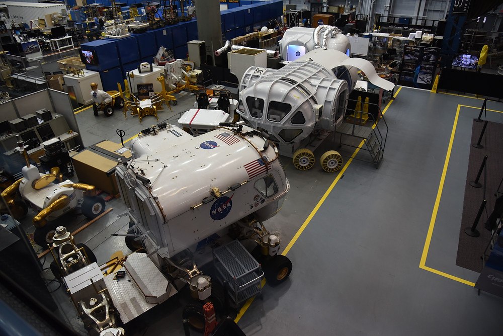 Rover Section at Johnson Space Center