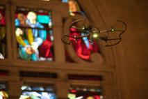 Tournage dans une Église