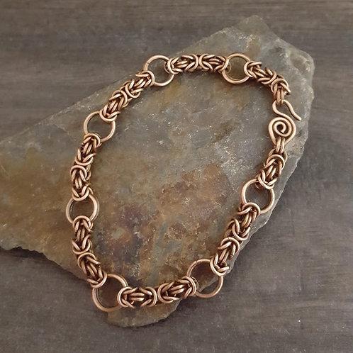 Byzantine and Ring Bracelet