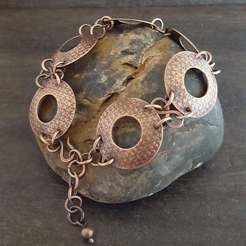 Textured Ring Bracelet