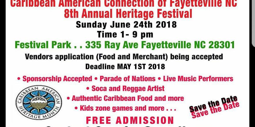 8th Annual Fayetteville Caribbean Unity Festival