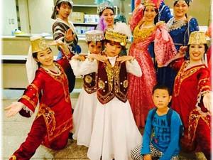 踊りと映像でご案内するウズベキスタン
