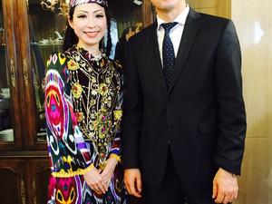 ウズベキスタン大使館!