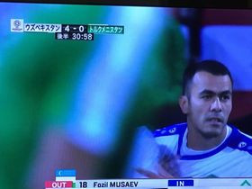 ムサエフ選手!!