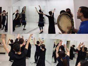 台風でもウズベクダンス!