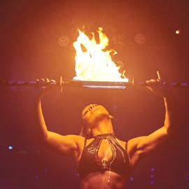 Proud Late VIP Club London Fire Dancer